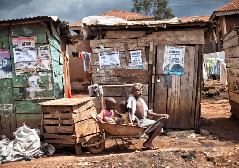 Inadequate housing in Uganda's slums